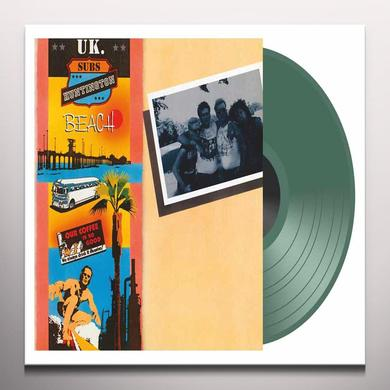 U.K. Subs HUNTINGTON BEACH Vinyl Record - Colored Vinyl, UK Release