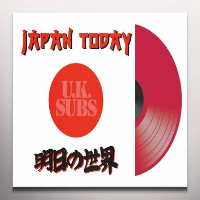 U.K. Subs JAPAN TODAY Vinyl Record - Colored Vinyl, UK Release