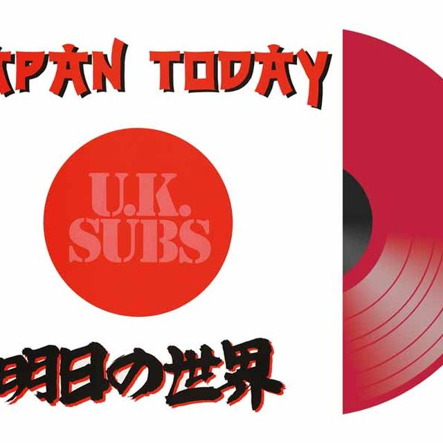 U.K. Subs JAPAN TODAY Vinyl Record - Colored Vinyl, UK Import