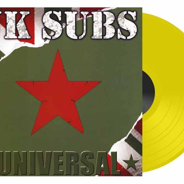 U.K. Subs UNIVERSAL Vinyl Record - UK Import, Colored Vinyl