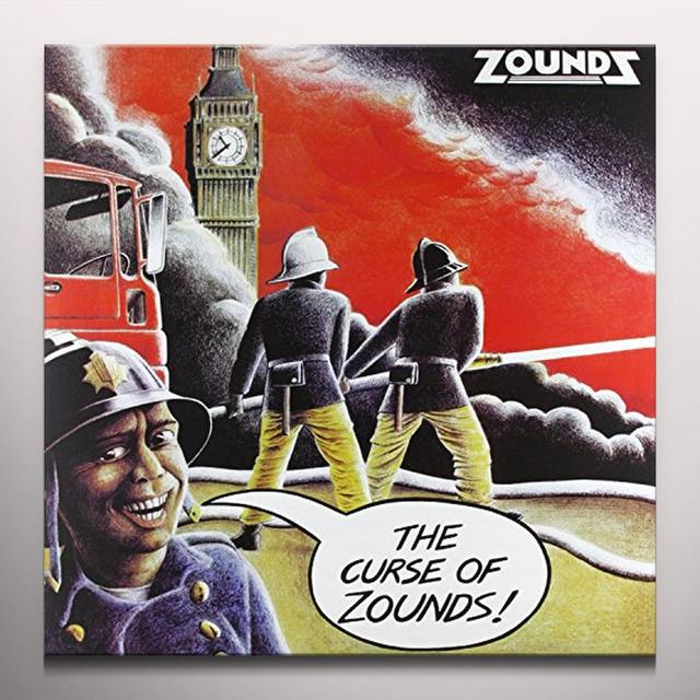CURSE OF ZOUNDS Vinyl Record - Colored Vinyl, UK Import
