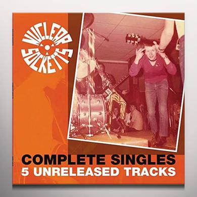 NUCLEAR SOCKETTS COMPLETE SINGLES Vinyl Record - Colored Vinyl, UK Import