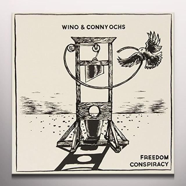 Wino & Conny Ochs FREEDOM CONSPIRACY Vinyl Record - Colored Vinyl, UK Release