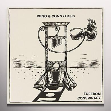 Wino & Conny Ochs FREEDOM CONSPIRACY Vinyl Record - Colored Vinyl, UK Import