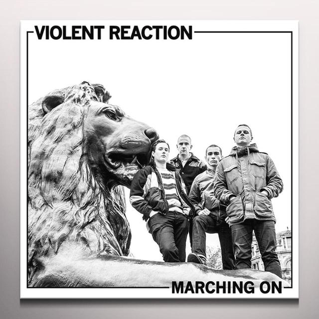 Violent Reaction MARCHING ON Vinyl Record - UK Import, Colored Vinyl