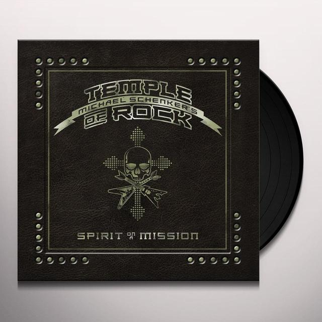 Michael / Temple Of Rock Schenker SPIRIT ON A MISSION Vinyl Record