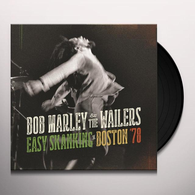 Bob Marley EASY SKANKING IN BOSTON 78 Vinyl Record