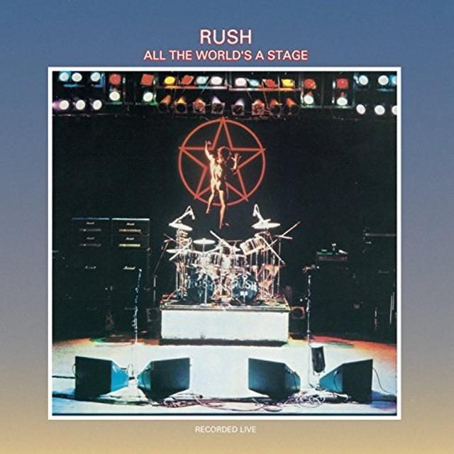 Rush ALL THE WORLD'S A STAGE Vinyl Record