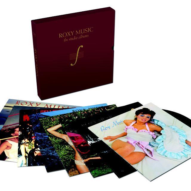 Roxy Music COMPLETE STUDIO ALBUMS Vinyl Record