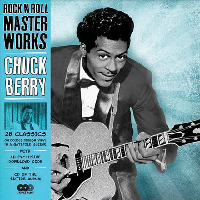 Chuck Berry ROCK 'N ROLL MASTERWORKS Vinyl Record