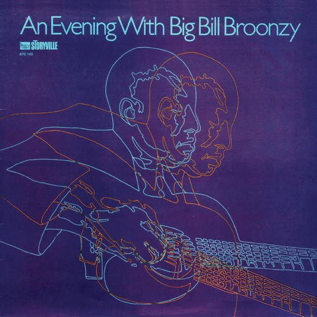 EVENING WITH BIG BILL BROONZY Vinyl Record