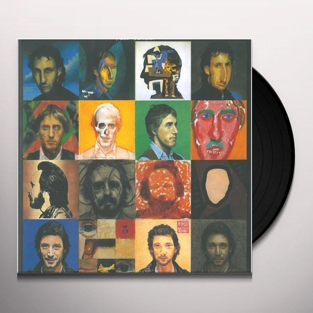 The Who FACE DANCES Vinyl Record