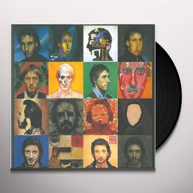 Who FACE DANCES Vinyl Record - 180 Gram Pressing, Remastered