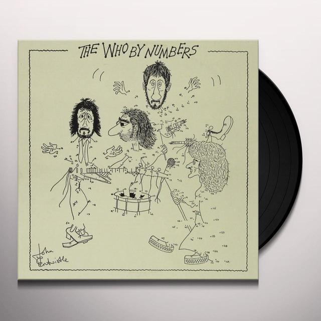 WHO BY NUMBERS Vinyl Record - 180 Gram Pressing, Remastered