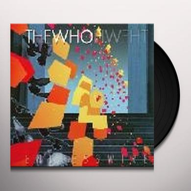 Who ENDLESS WIRE Vinyl Record - 180 Gram Pressing, Remastered