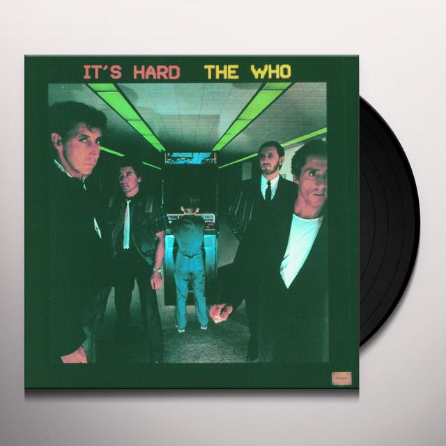 Who IT'S HARD Vinyl Record - 180 Gram Pressing, Remastered