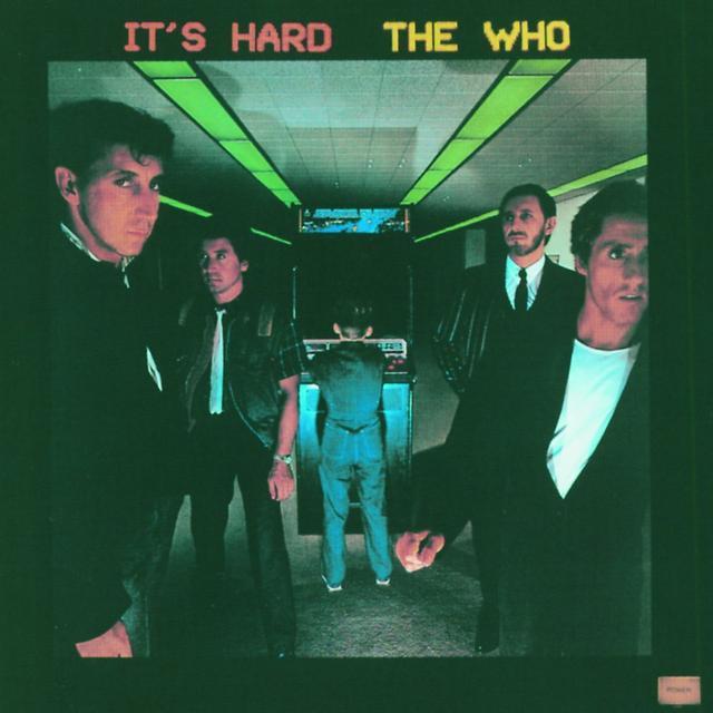 The Who IT'S HARD Vinyl Record