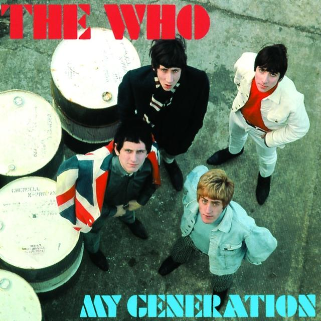 The Who MY GENERATION Vinyl Record