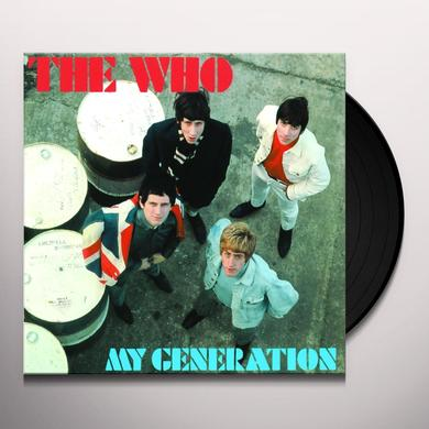 Who MY GENERATION Vinyl Record - Remastered
