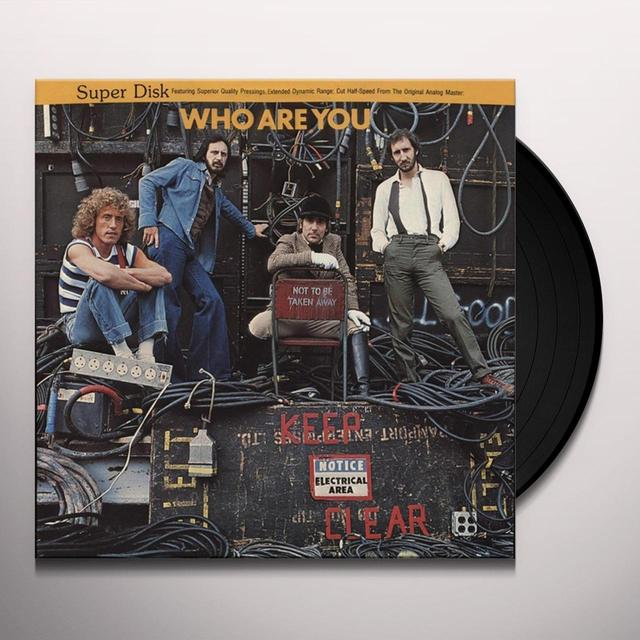 WHO ARE YOU Vinyl Record