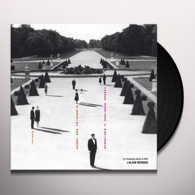 LA MUSIQUE DANS LE FILM D'ALAIN RESNAIS / VARIOUS Vinyl Record