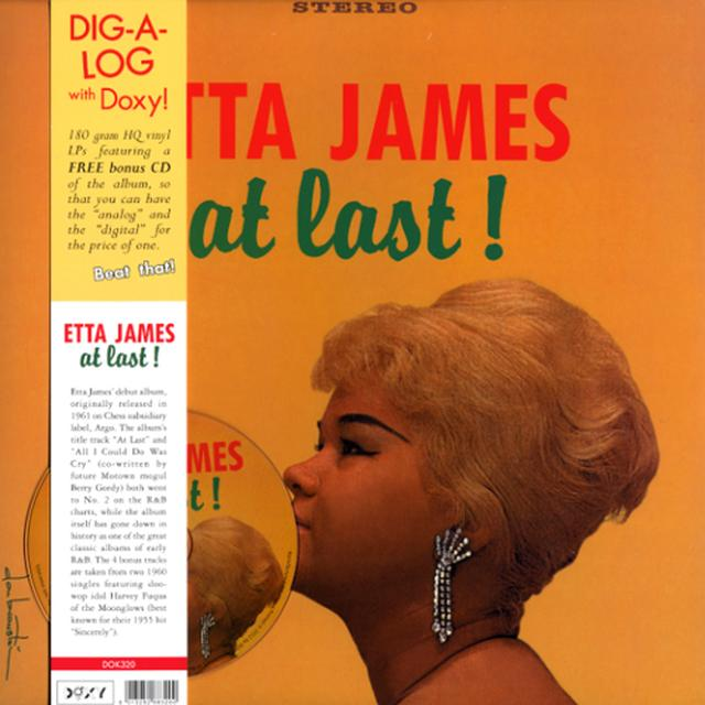 Etta James AT LAST Vinyl Record - w/CD, 180 Gram Pressing