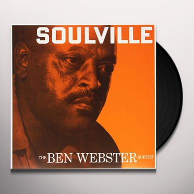 Ben Quintet Webster SOULVILLE Vinyl Record - Limited Edition, 180 Gram Pressing