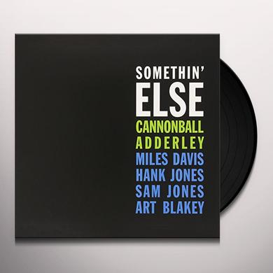 Cannonball Adderley SOMETHIN ELSE Vinyl Record - Limited Edition, 180 Gram Pressing