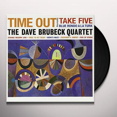 The Dave Brubeck Quartet TIME OUT Vinyl Record - Limited Edition, 180 Gram Pressing
