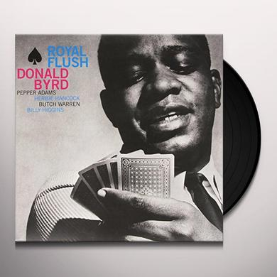 Donald Byrd ROYAL FLUSH Vinyl Record - Limited Edition, 180 Gram Pressing