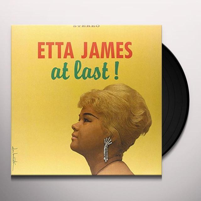 Etta James AT LAST Vinyl Record