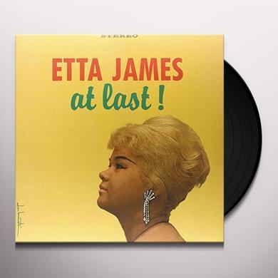 Etta James AT LAST Vinyl Record - Limited Edition, 180 Gram Pressing