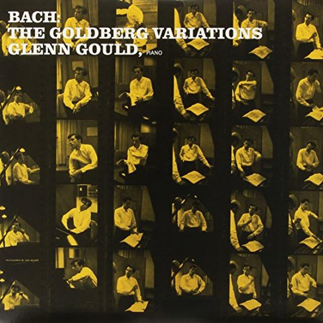 Glenn Gould BACH: GOLDBERG VARIATIONS Vinyl Record - Limited Edition, 180 Gram Pressing