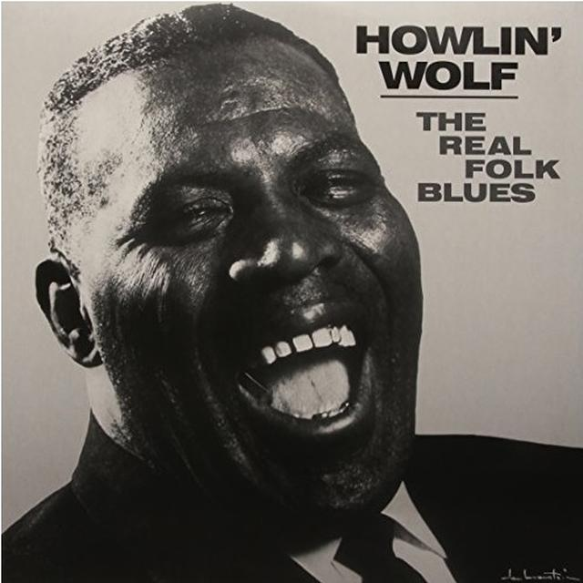 Howlin Wolf REAL FOLK BLUES Vinyl Record - Limited Edition, 180 Gram Pressing