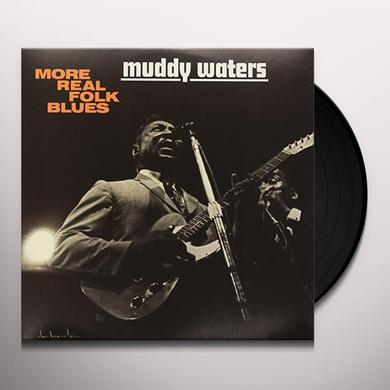 Muddy Waters MORE REAL FOLK BLUES Vinyl Record - Limited Edition, 180 Gram Pressing