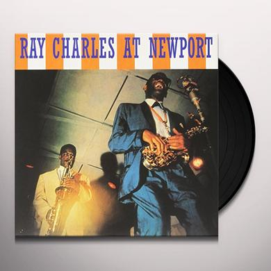 RAY CHARLES AT NEWPORT Vinyl Record - Limited Edition, 180 Gram Pressing