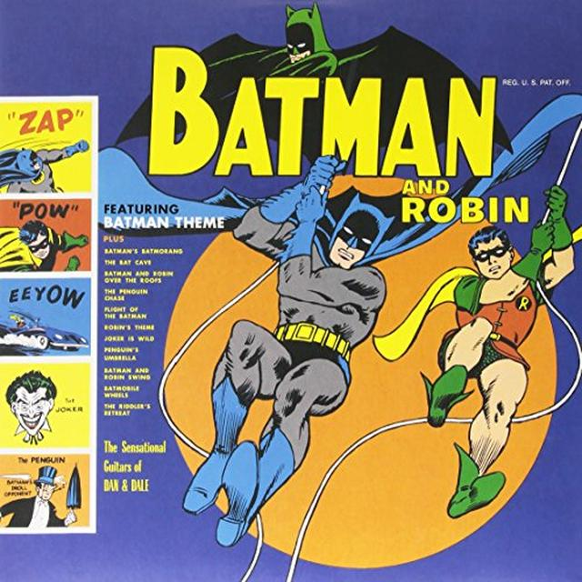 SENSATIONAL GUITARS OF DAN & DALE : SUN RA ARKESTA BATMAN AND ROBIN Vinyl Record