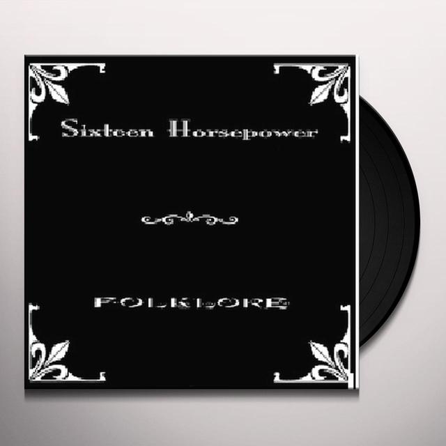 16 Horsepower FOLKLORE Vinyl Record - Reissue