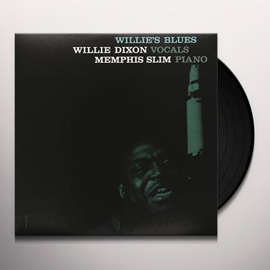 Willie Dixon & Memphis Slim WILLIE'S BLUES Vinyl Record - Limited Edition, 180 Gram Pressing