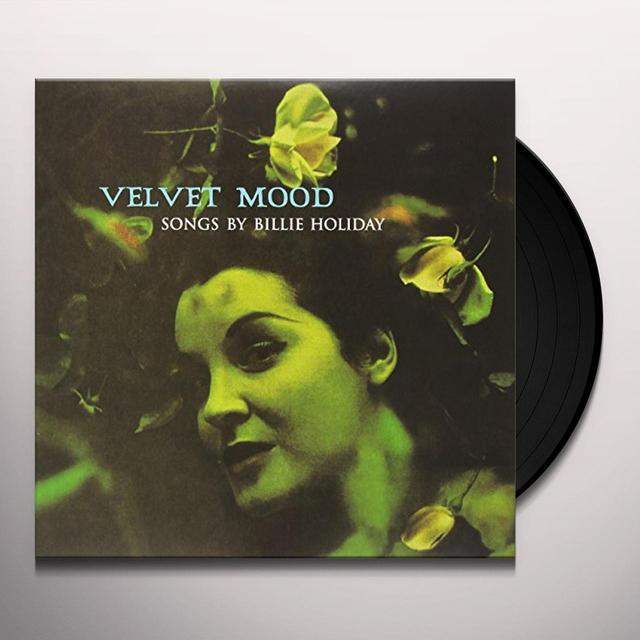 Billie Holiday VELVET MOOD Vinyl Record - Limited Edition, 180 Gram Pressing