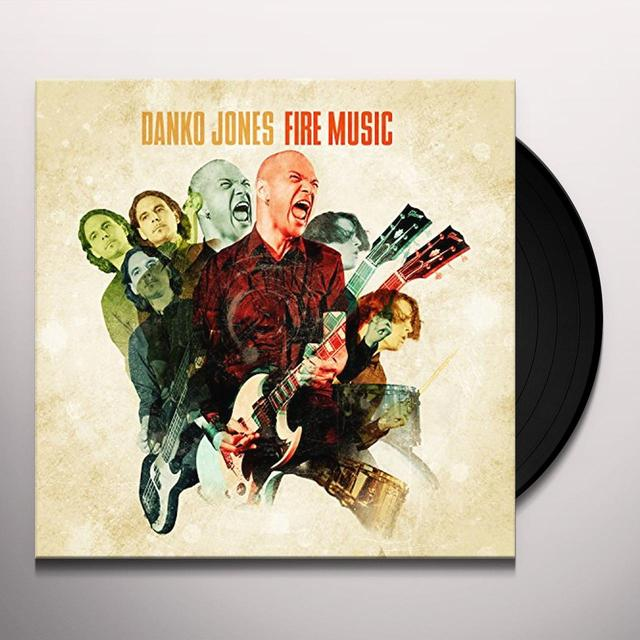 Danko Jones FIRE MUSIC Vinyl Record - Holland Release