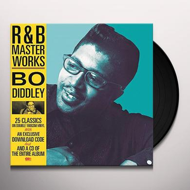 R&B MASTER WORKS-BO DIDDLEY (BONUS CD) Vinyl Record - UK Import