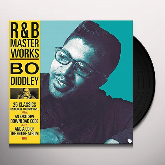 R&B MASTER WORKS-BO DIDDLEY (BONUS CD) Vinyl Record - UK Release