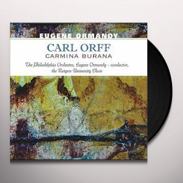 Eugene Ormandy CARL ORFF-CARMINA BURANA Vinyl Record