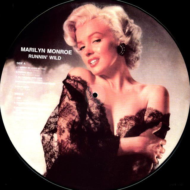 Marilyn Monroe RUNNIN' WILD (GER) Vinyl Record