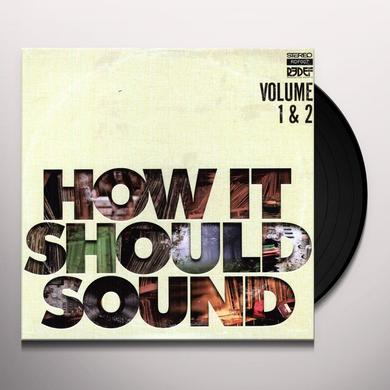 Damu The Fudgemunk HOW IT SHOULD SOUND: VOLUMES 1 & 2 Vinyl Record