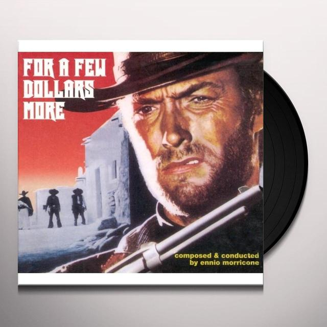 Ennio Morricone FOR A FEW DOLLARS MORE (SCORE) / O.S.T. Vinyl Record - 10 Inch Single