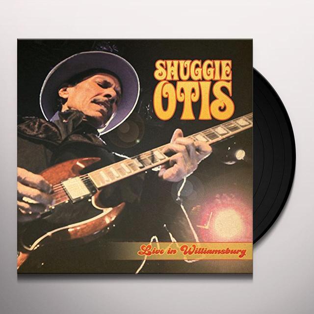 Shuggie Otis LIVE IN WILLIAMSBURG Vinyl Record