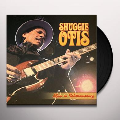 Shuggie Otis LIVE IN WILLIAMSBURG Vinyl Record