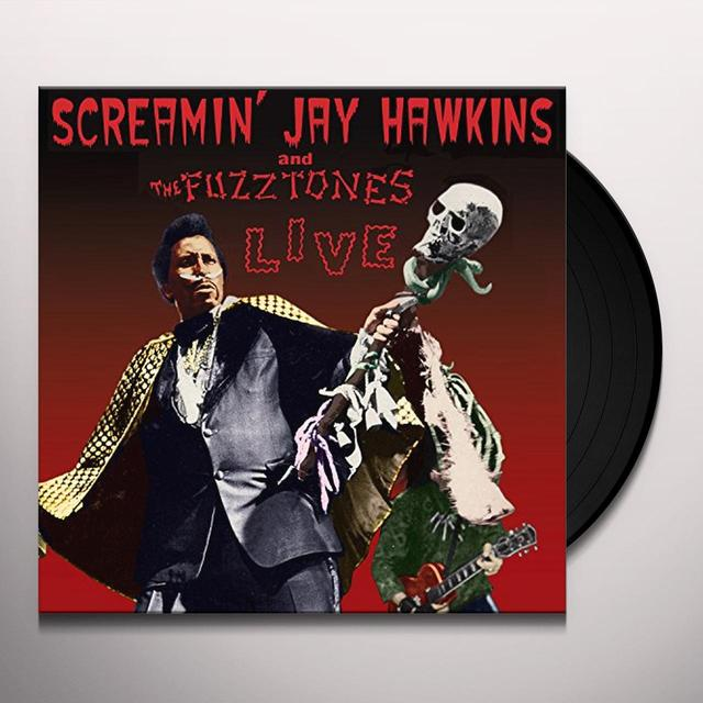 Screamin Jay Hawkins & The Fuzztones LIVE Vinyl Record